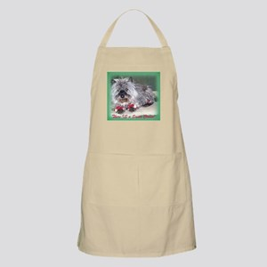 """""""There is a Santa Cairn"""" BBQ Apron"""