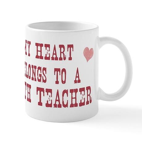 Belongs to Math Teacher Mug