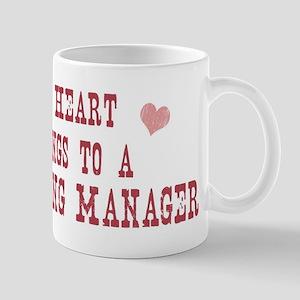 Belongs to Marketing Manager Mug