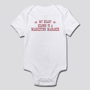 Belongs to Marketing Manager Infant Bodysuit