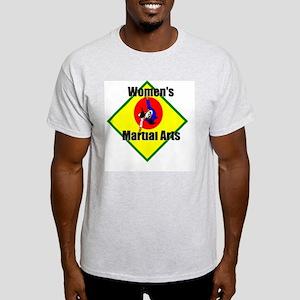 Women's MA Throw Ash Grey T-Shirt