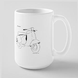 Scootin' Large Mug
