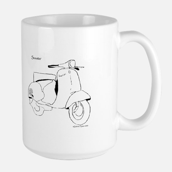 Scootin' Large Mug