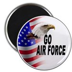 Go Air Force Magnet