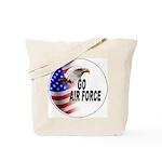 Go Air Force Tote Bag