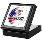 Go Air Force Keepsake Box