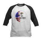 Go Air Force Kids Baseball Jersey