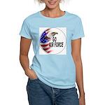 Go Air Force Women's Pink T-Shirt