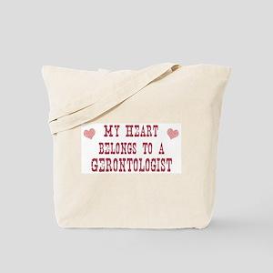 Belongs to Gerontologist Tote Bag