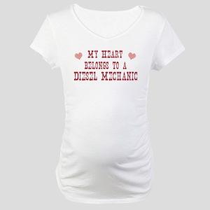 Belongs to Diesel Mechanic Maternity T-Shirt