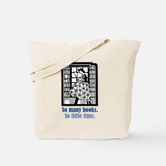 So Many Books Tote Bag