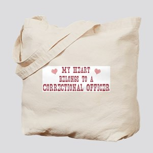 Belongs to Correctional Offic Tote Bag