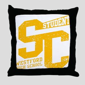 STUDENT WESTFORD HIGH SCHOOL Throw Pillow