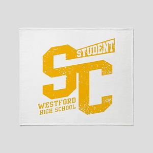 STUDENT WESTFORD HIGH SCHOOL Throw Blanket