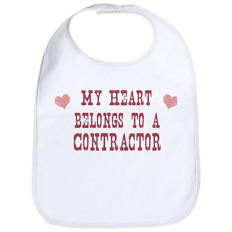 Belongs to Contractor Bib