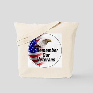 Remember Our Veterans Tote Bag