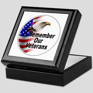 Remember Our Veterans Keepsake Box