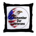 Remember Our Veterans Throw Pillow