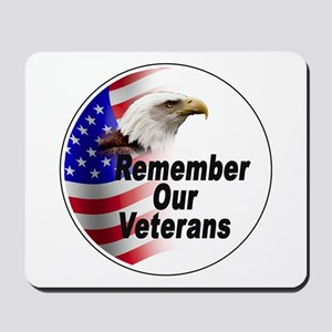 Remember Our Veterans Mousepad