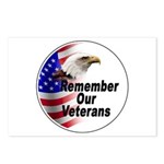 Remember Our Veterans Postcards (Package of 8)