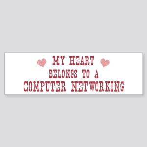 Belongs to Computer Networkin Bumper Sticker
