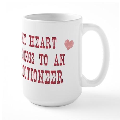 Belongs to Auctioneer Large Mug