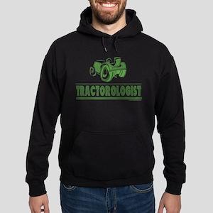 Green Tractor Hoodie (dark)