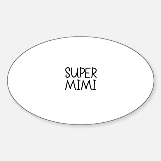 Super Mimi Oval Decal