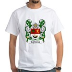 Espinosa Family Crest White T-Shirt