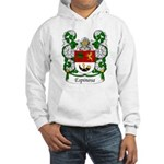 Espinosa Family Crest Hooded Sweatshirt