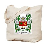 Espinosa Family Crest Tote Bag