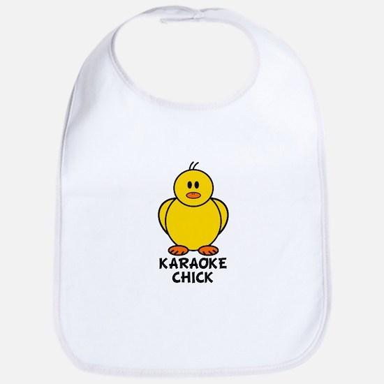Karaoke Chick Bib