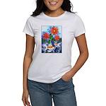 Fish and Flowers Art Women's T-Shirt