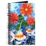 Fish and Flowers Art Journal