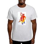Latin Dancers #1 Ash Grey T-Shirt