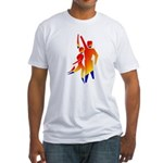 Latin Dancers #1 Fitted T-Shirt