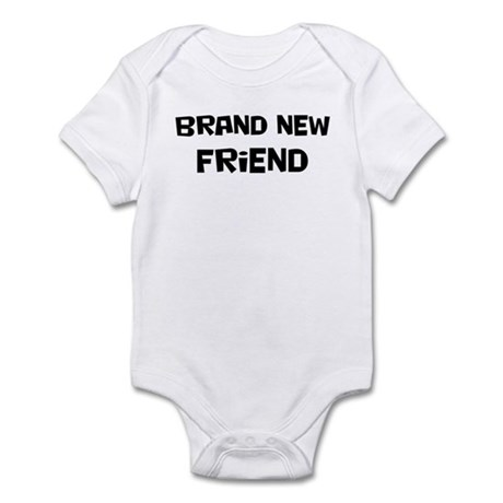 Brand New Friend Infant Bodysuit