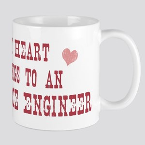 Belongs to Aerospace Engineer Mug