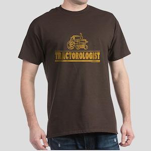 Funny Tractor Dark T-Shirt