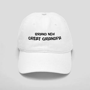 Brand New Great Grandpa Cap