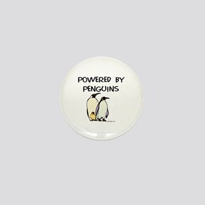 Powered by Penguins Mini Button