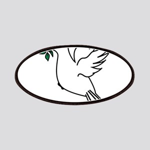 Dove and olive branch 3 Patch