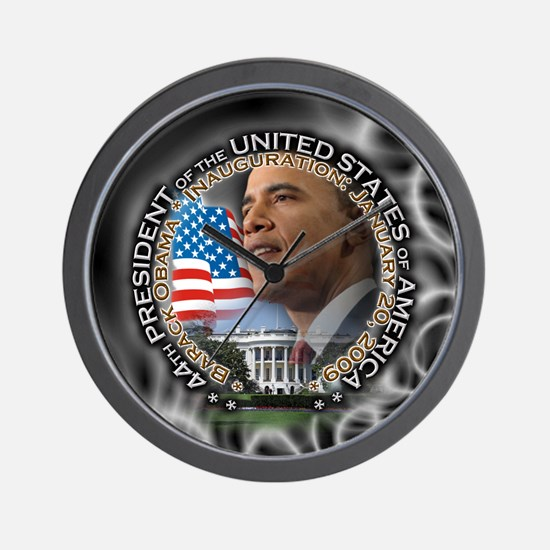 Unique President barack obama occasions Wall Clock