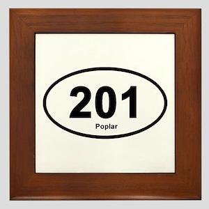 201 Poplar Framed Tile