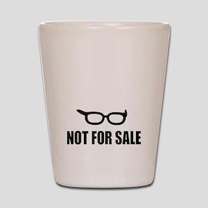 Bernie Sanders Not For Sale Shot Glass