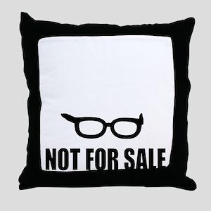 Bernie Sanders Not For Sale Throw Pillow