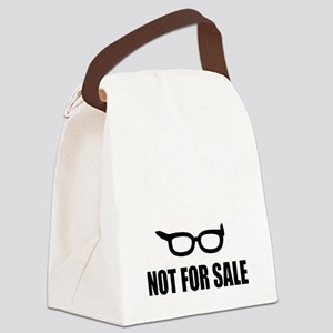 Bernie Sanders Not For Sale Canvas Lunch Bag
