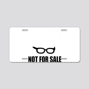 Bernie Sanders Not For Sale Aluminum License Plate