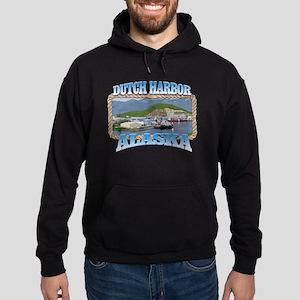 DUTCH HARBOR ALASKA Hoodie (dark)