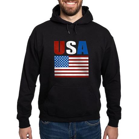 Patriotic USA Hoodie (dark)